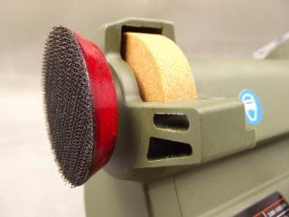 44702 presents the full face for Velcro sanding discs
